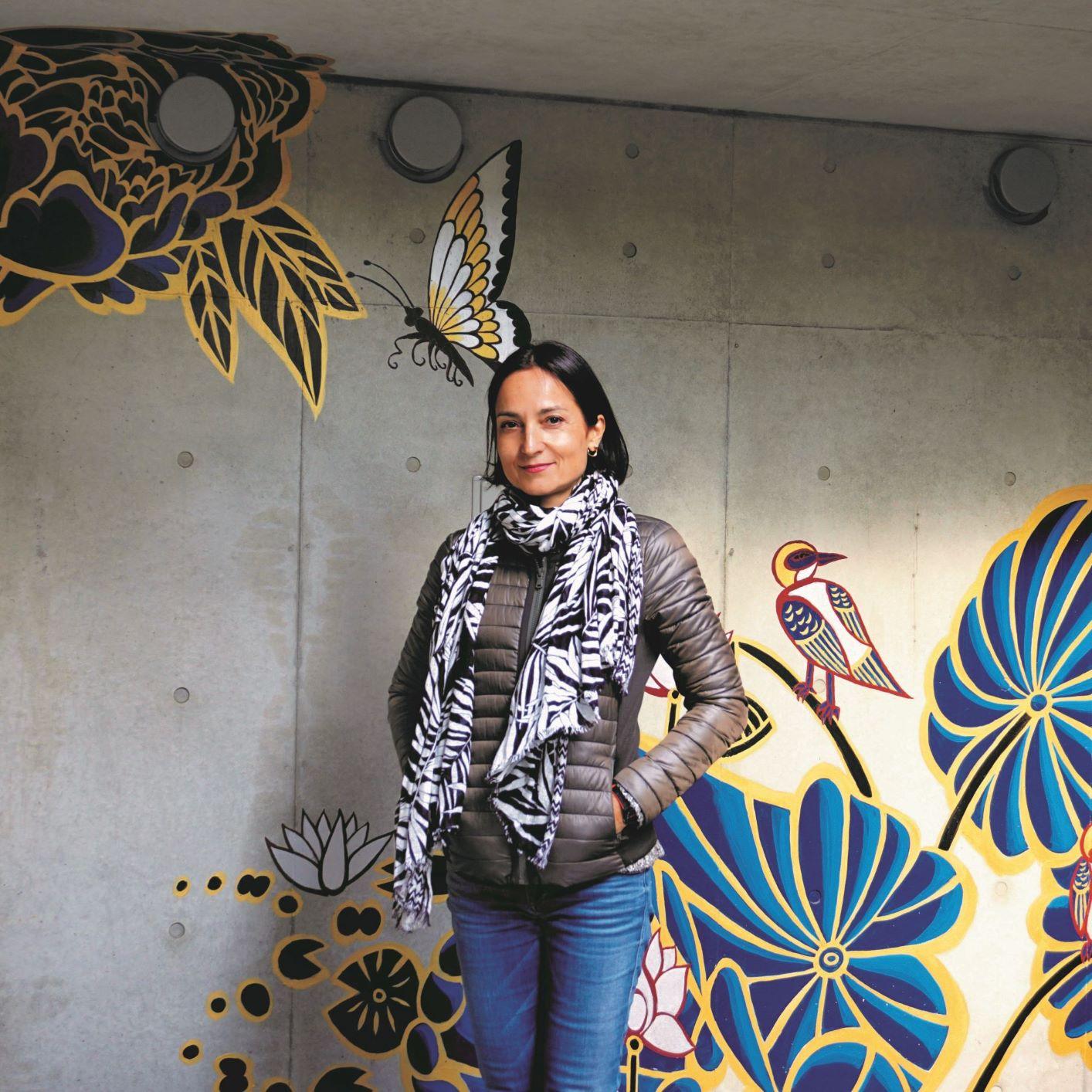 Marta Ki-Yan's mural Kyoto 2019_01_