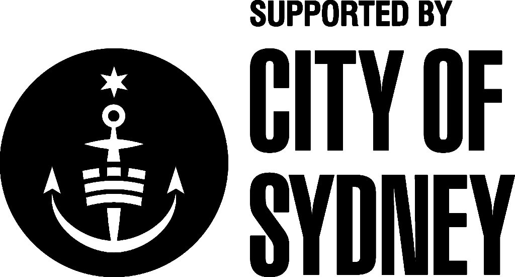 Supported by City of Sydney logo