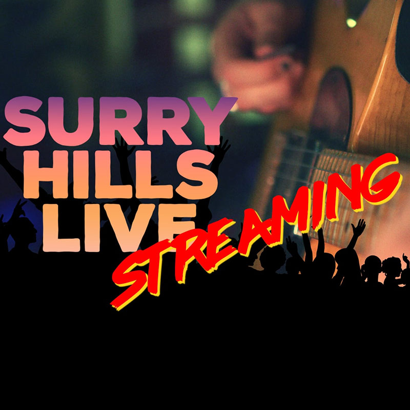 Surry Hills LIVE NOW STREAMING POSTER